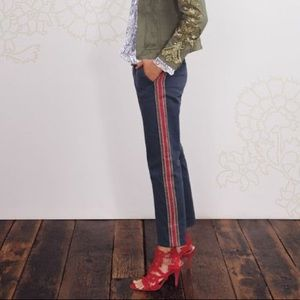 Boden Icons Field Striped Chino Pants